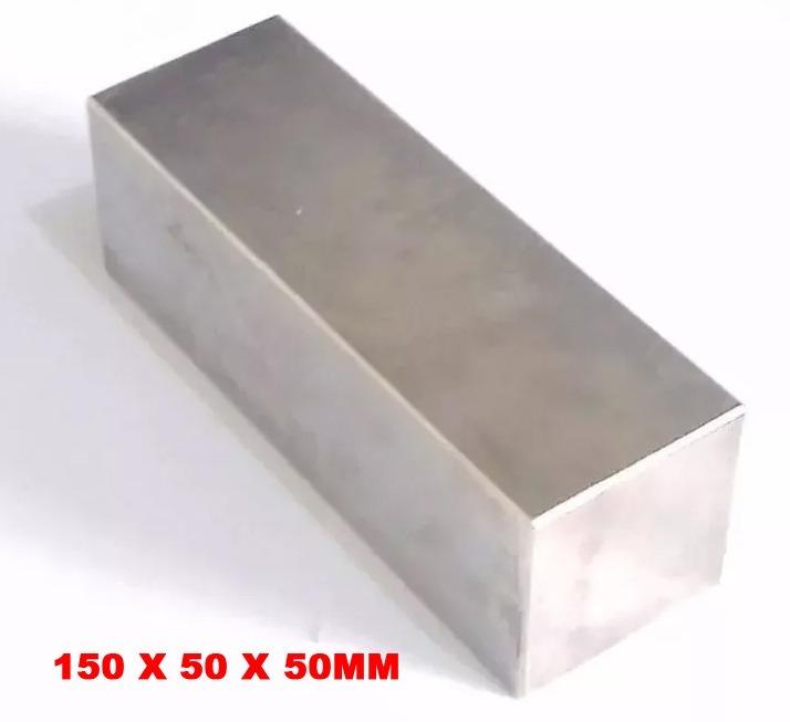 679ad555f2e Super Imas Ima Neodímio Bloco 150x50x50 Mm N52 Super Forte - R ...