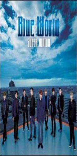super junior blue world 5th single importado cd + dvd nuevo