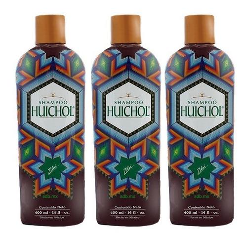 super kit de 3 shampoo del indio huichol envio gratis
