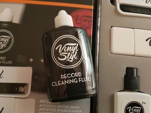 super kit de limpieza para discos de acetato viniles