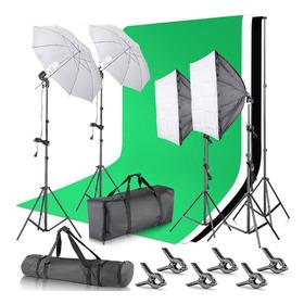 Super Kit De Luces Para Estudio, Fotografía Y Vídeo Oferta