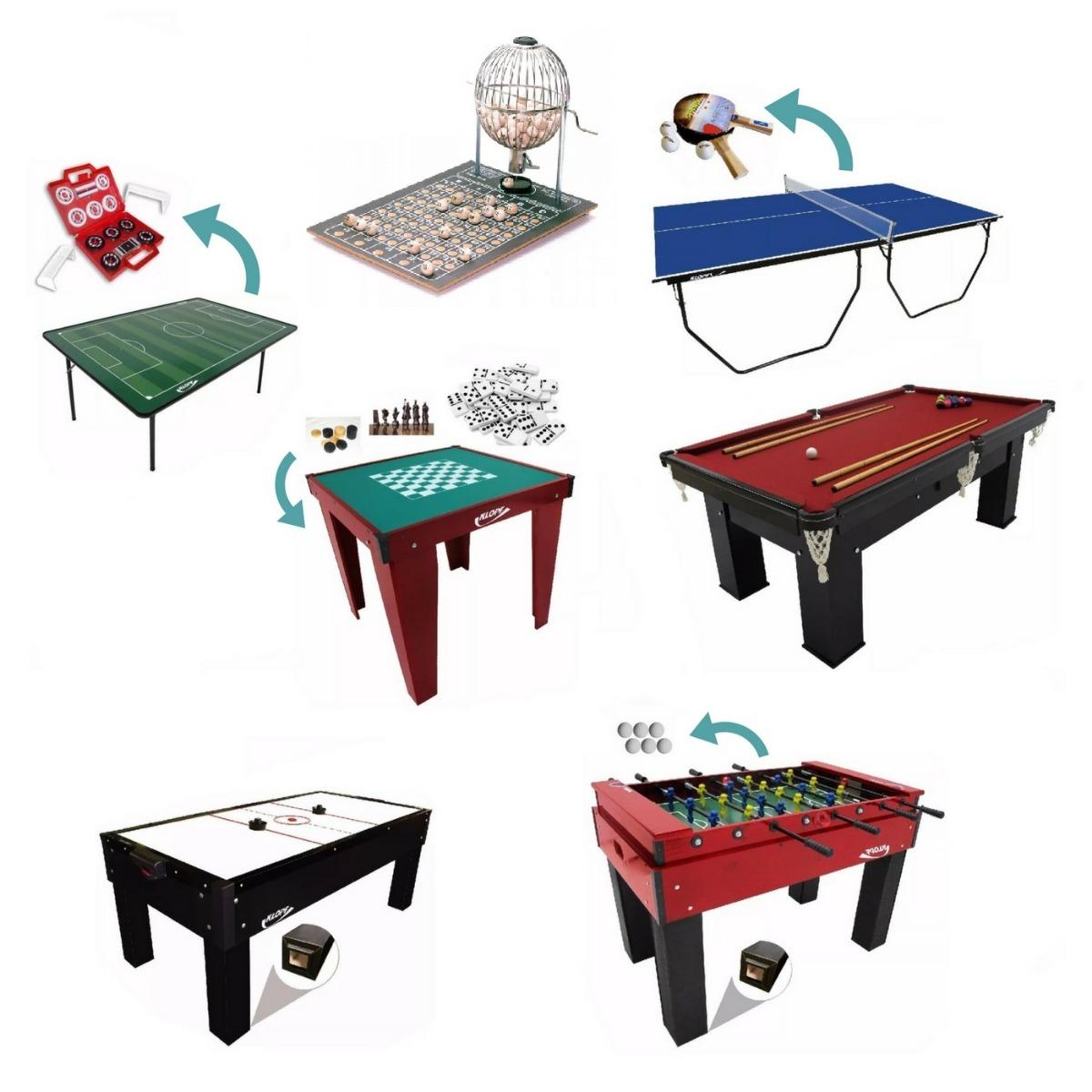 super kit especial de mesas para salão de jogos - klopf. Carregando zoom. cd8c50cda5992