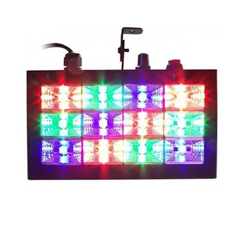 super kit festa iluminação dj balada máquina 600w strobo rgb
