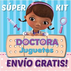 Super Kit Imprimible Doctora Juguetes Invitaciones Cumple