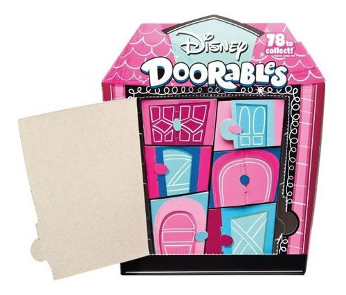 super kit playset e mini figura disney  doorables dtc