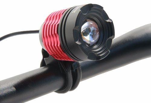super lanterna bike led farol recarregavel cree t6