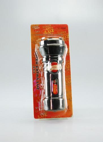 super linterna led  alta capacidad fuerte brillo recargable