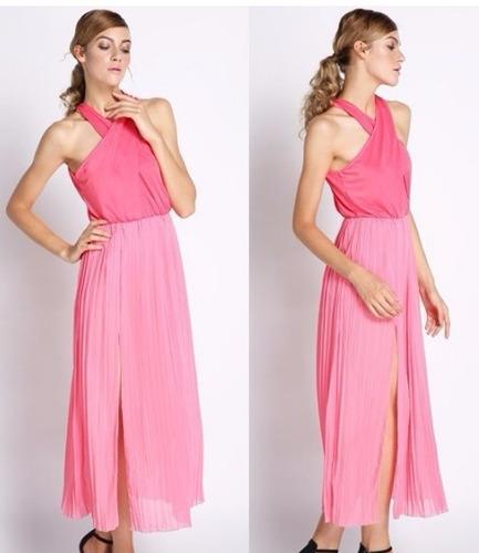 super liquidacion !!vestido fiesta largo!  $599 envio gratis