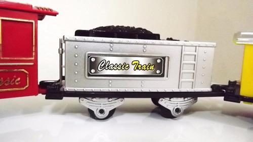 super locomotiva expresso ferrorama trem máquina vagões