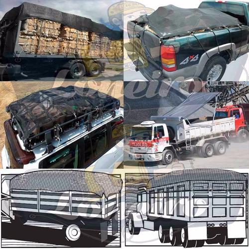 super lona tela pead 800 micras caminhão caçamba cerca 6x6 m