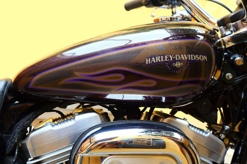super low harley davidson