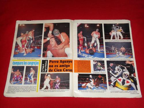 super luchas numero 87 años 90's primera epoca.