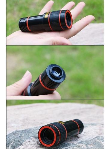 super luneta lente com zoom 12x + tripé celular telescópio !