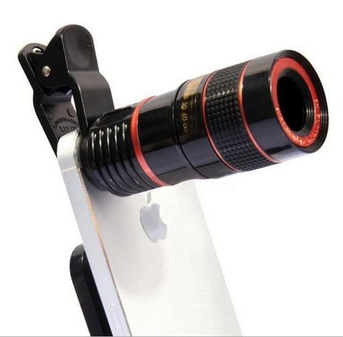 super luneta universal 8x zoom óptico - frete grátis