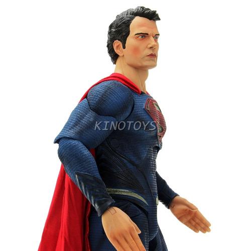 super-man - man of steel homem de aço 1:4 neca ne-5847