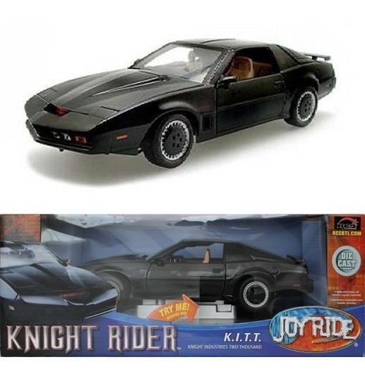 Super Máquina Knight Rider 1/18 Joy Ride Ertl Die Cast Ertl