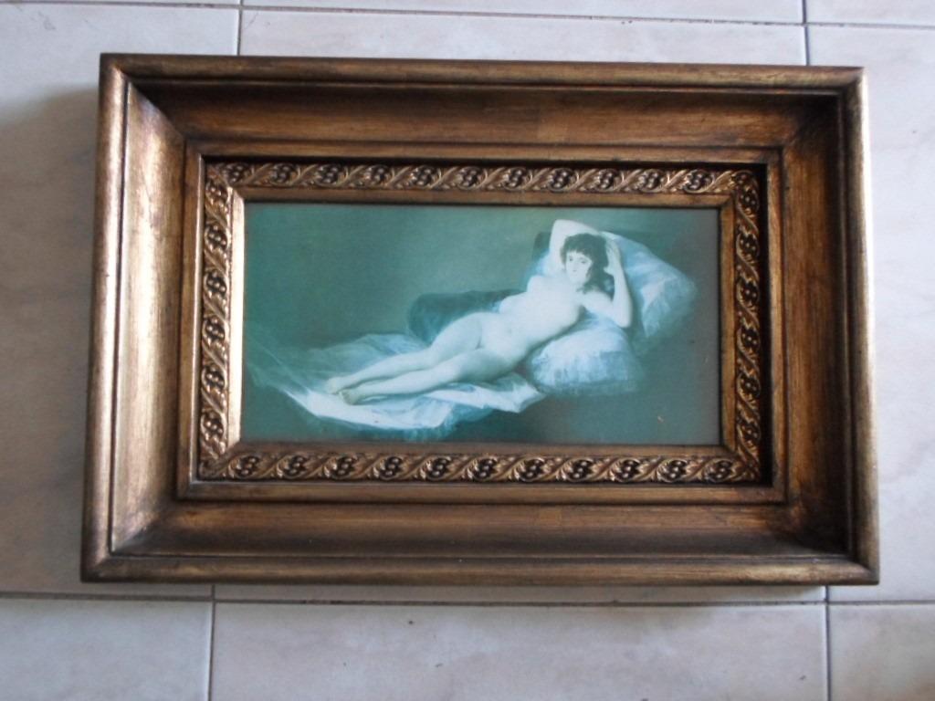 Super Marcos De Goya Majas Desnudas Museo Del Prado. - $ 370.000 en ...