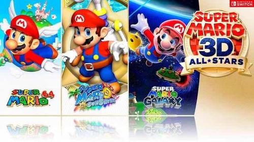 super mario 3d all-stars switch nuevo entrega inmediata