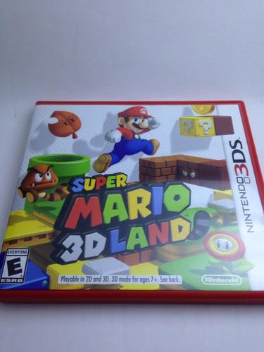super mário 3d land 3ds 2ds original americano