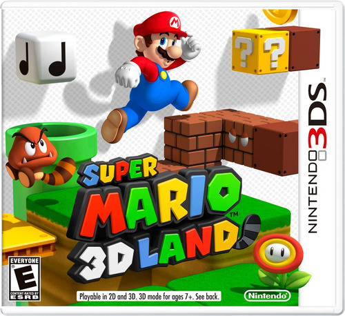 super mario 3d land nintendo 2ds 3ds 3dsxl