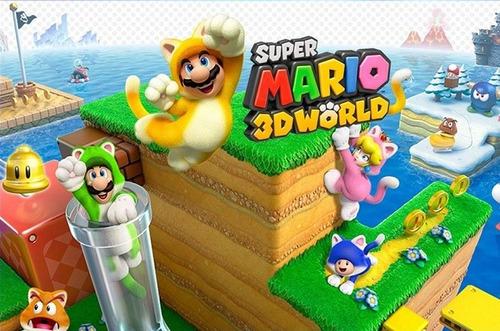 super mario 3d word wiiu $5 c/u