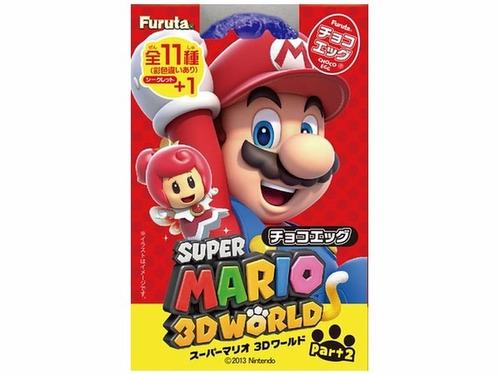 super mario 3d world colección 11 figuras marca furuta pt1