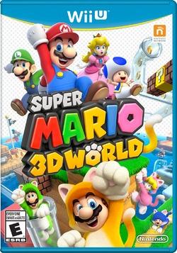 super mario 3d world - dvd original para nintendo wii u