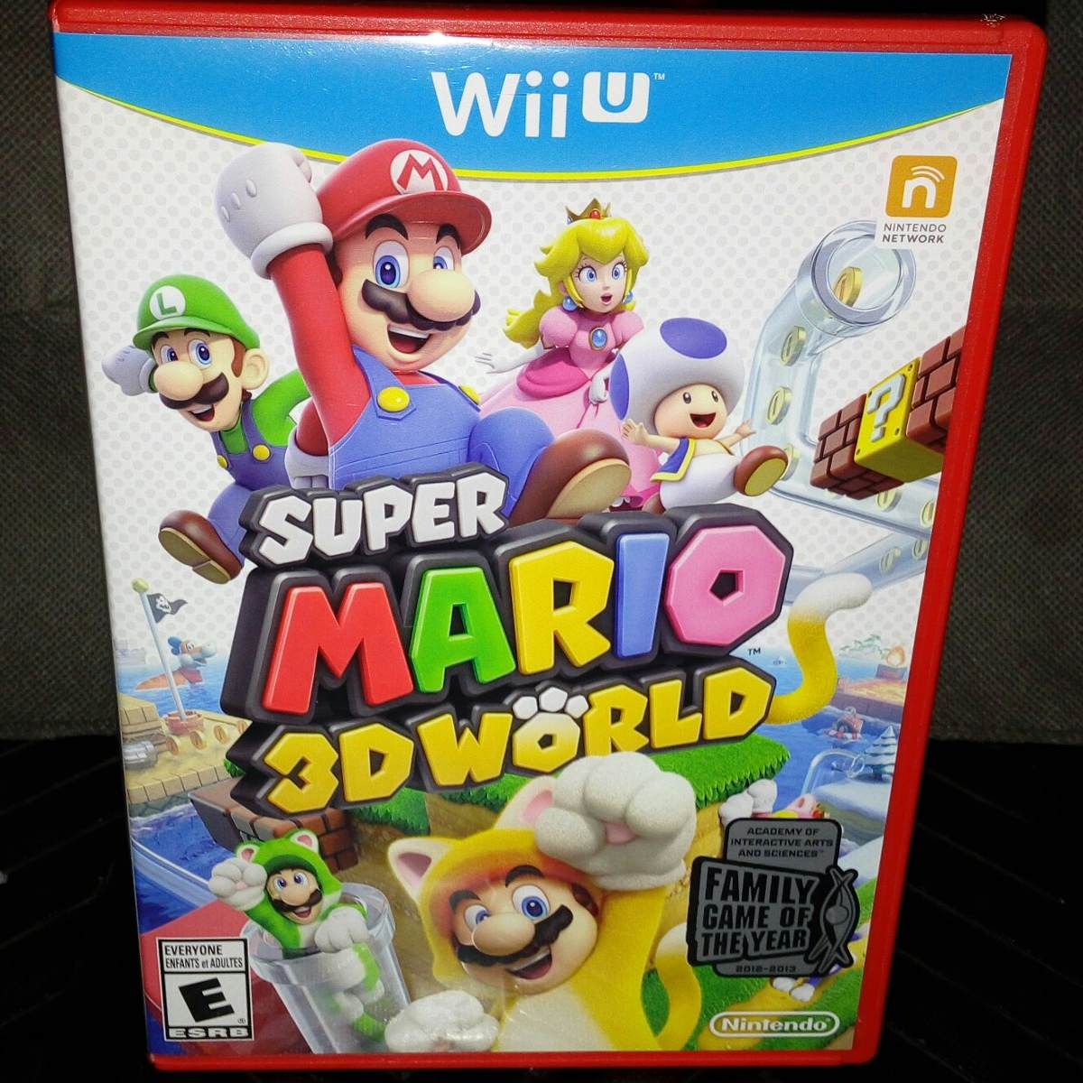 Super Mario 3d World Juego Wii U Fisico Original Ntsc 1 050 00