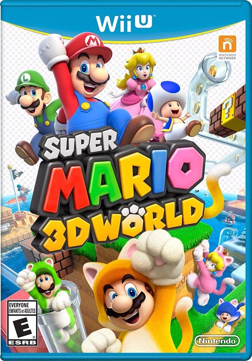 Super Mario 3d World Juegos Digitales Para Wii U Regalo Bs