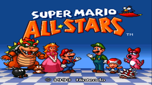 super mario all star para celular y/o tablet