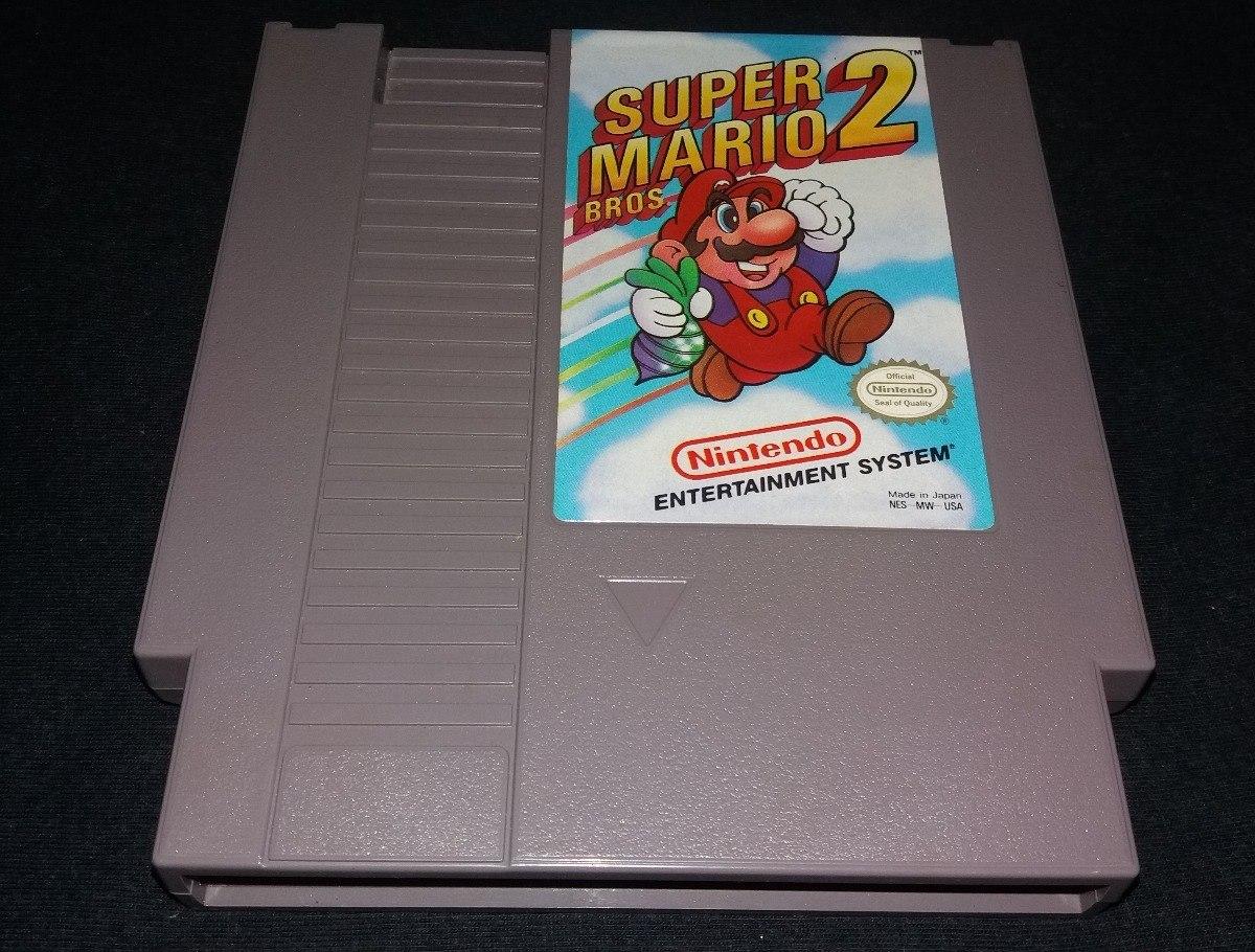 Super Mario Bros 2 - 100% Original Nintendinho Nes 8 Bits