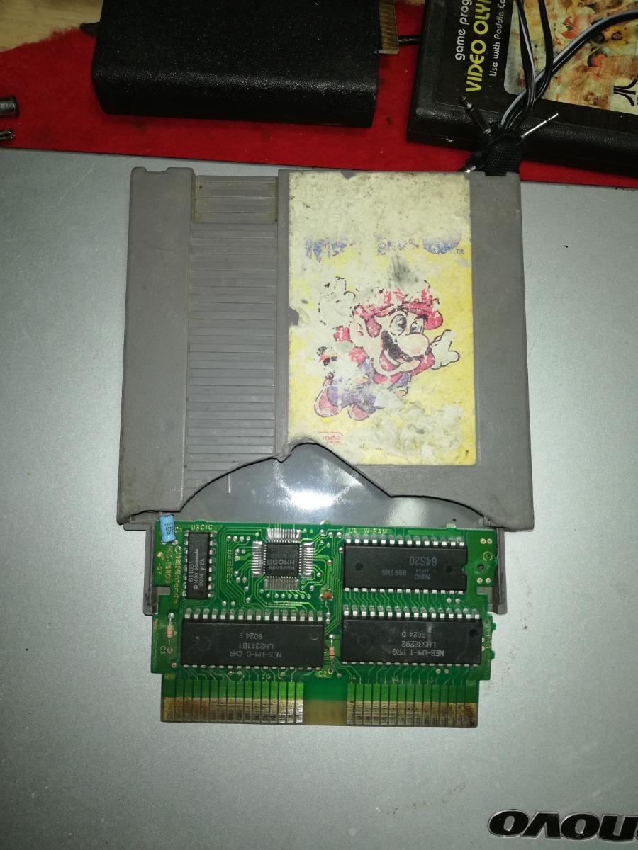 Super Mario Bros 3 Tarjeta Electrónica Funcionando - $ 99 00