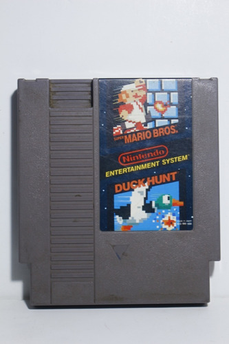 super mario bros and duck hunt - juego original nintendo nes