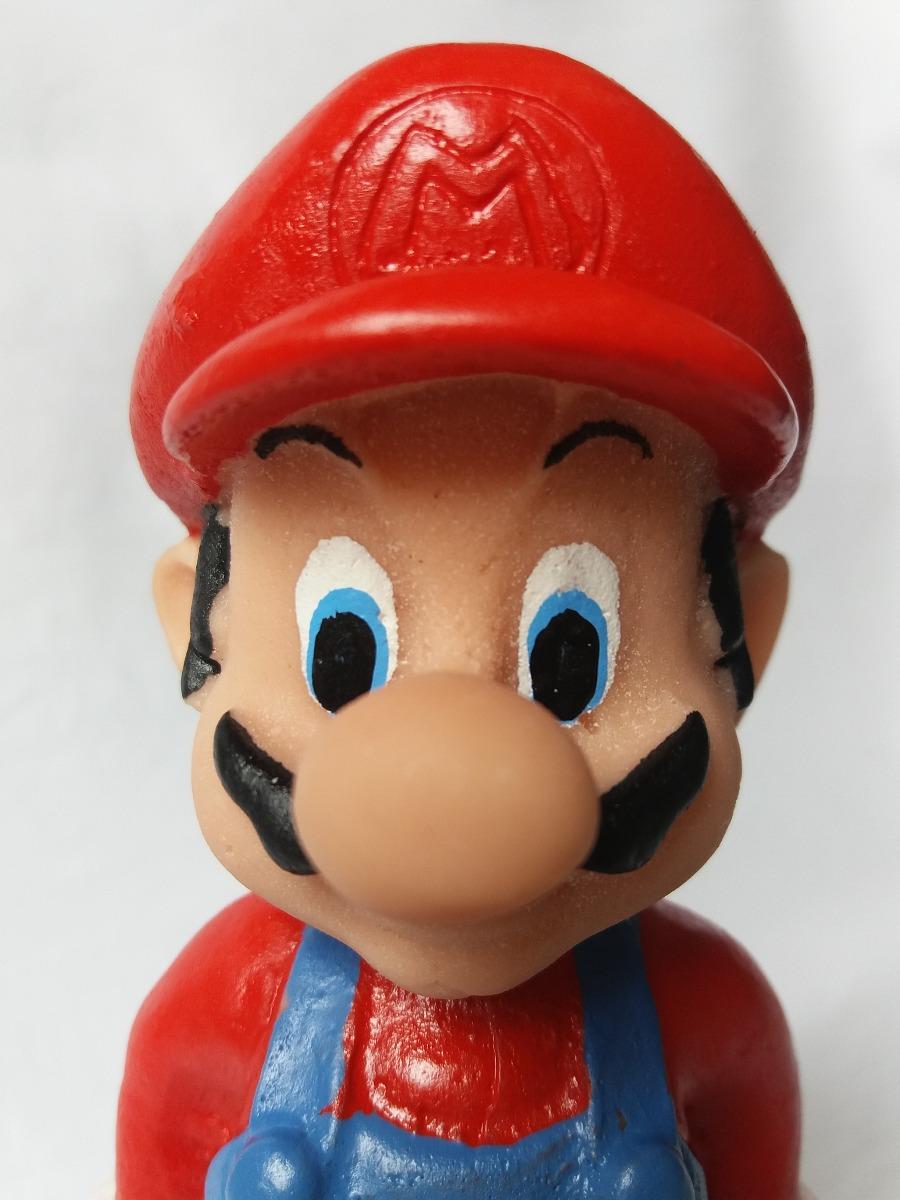 Super Mario Bros Desenho Resina Super Nintendo Video Game R 27