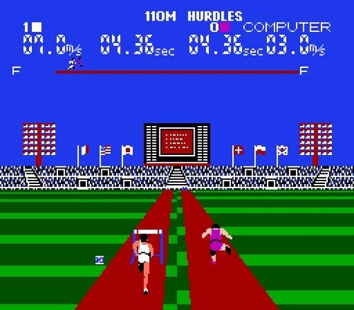 super mario bros duck hunt world class track meet para nes