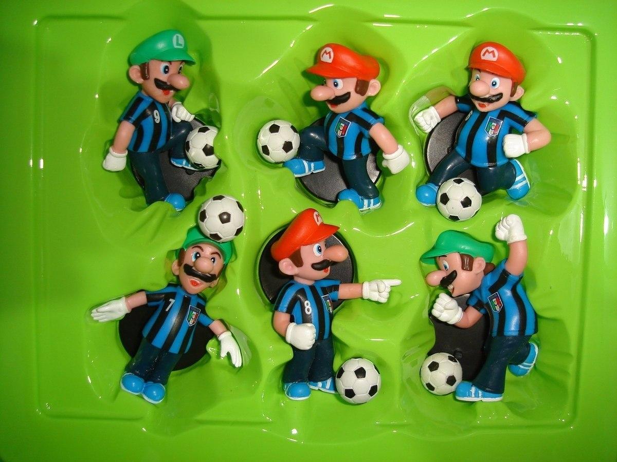 e6c074e43 Super Mario E Luigi Camisa Da Itália Copa Do Mundo Futebol - R$ 149 ...