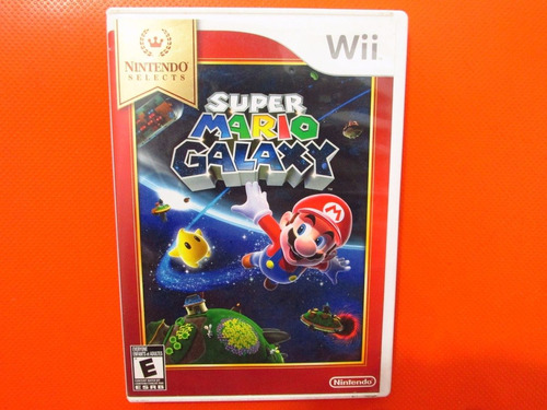 super mario galaxy original nintendo wii ntsc