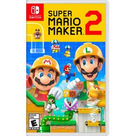 Super Mario Maker 2 Nintendo Switch Nuevo En Español