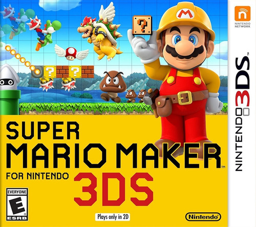 super mario maker 3ds [digital]