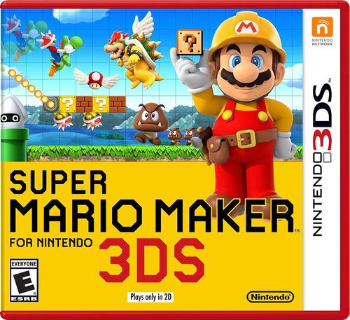 super mario maker digital (código) / 3ds