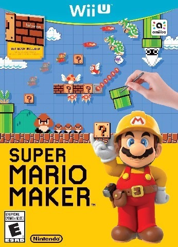 super mario maker wii u - formato dvd original
