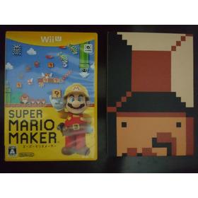 Super Mario Maker Wii U Original Japonês