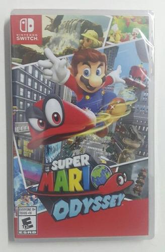 super mario oddysey nintendo switch nuevo sellado original