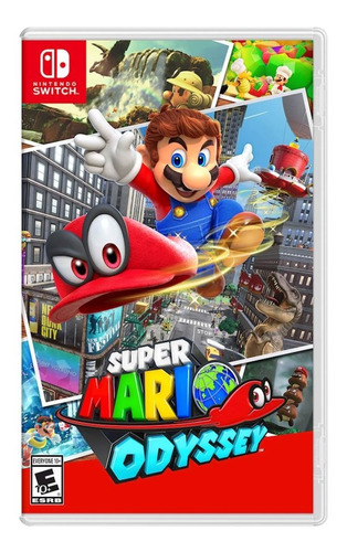 super mario odyssey for switch