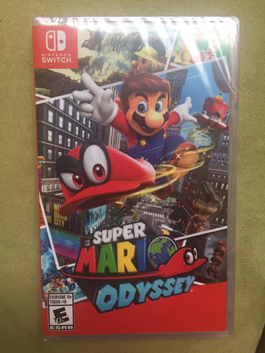 super mario odyssey original sellado para nintendo switch