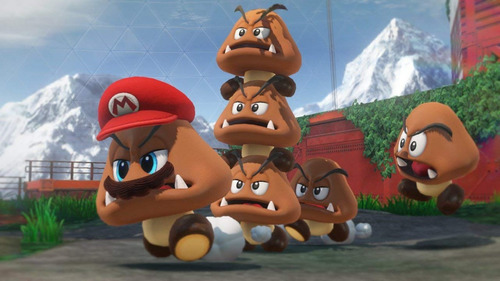super mario odyssey preventa switch eshop - tochi gaming