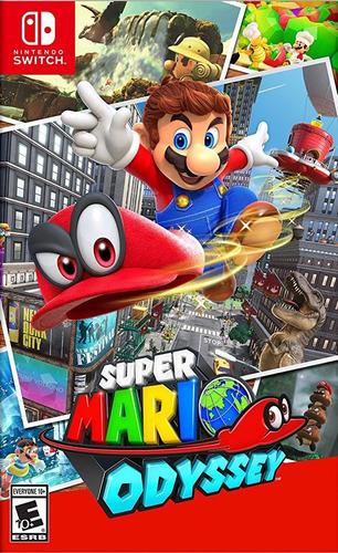 super mario odyssey - switch - codigo - widgetvideogames