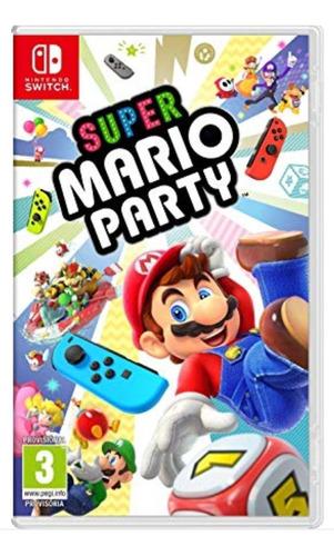 super mario party fisico nintendo switch nuevo sellado