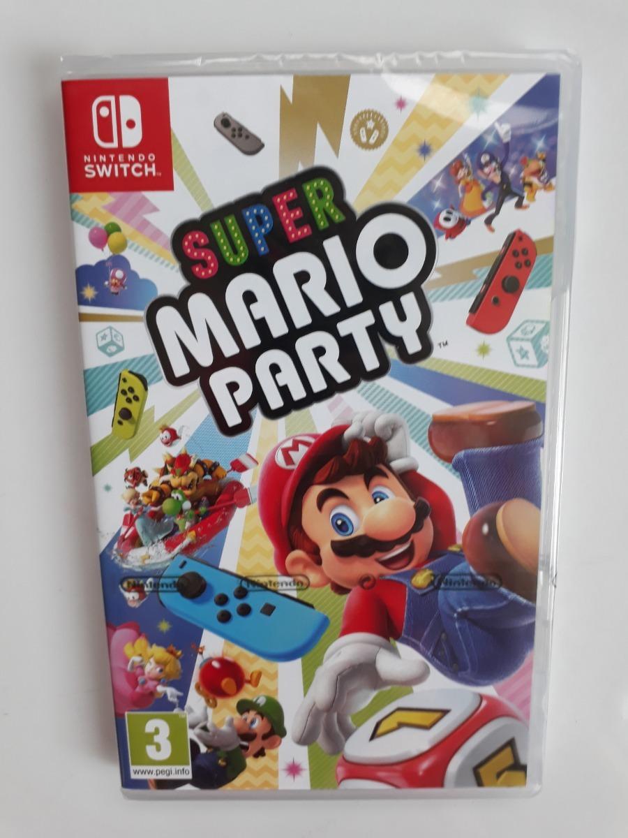 Super Mario Party Juego Nintendo Switch Nuevo Y Sellado S 190 00