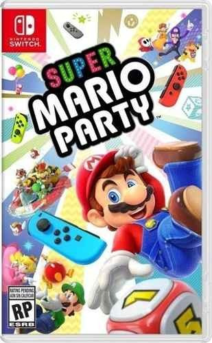 super mario party - juego switch físico - sniper